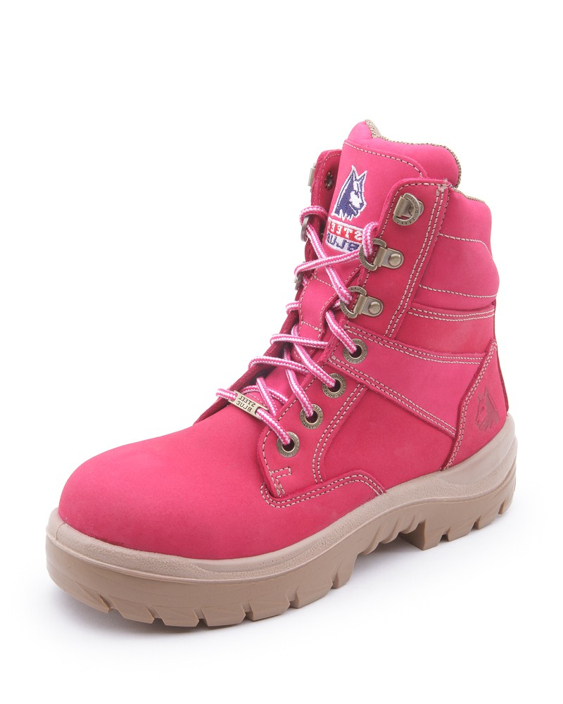 Original Women39s Safety Work Boots  BlackPink  Work Kit Girl